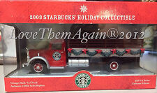 FINAL $79.99 Starbucks Collectible Truck 2003 Corgi NEW NVR OPENED-2nd YR Trucks