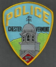 CHESTER VERMONT POLICE SHOULDER PATCH