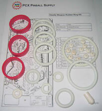 1990 Gottlieb/Premier Deadly Weapon Pinball Machine Rubber Ring Kit