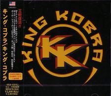 KING KOBRA ST + 1 JAPAN CD Paul Shortino Carmine Appice Rough Cutt Cactus WASP