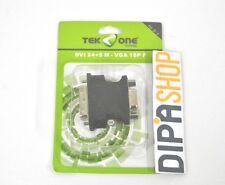 Adattatore TeKone TO-D-3 Convertitore DVI 24+5 Maschio - VGA 15pin Femmina hsb