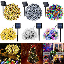 72ft 200 LED Outdoor Solar Power String Lights Garden Christmas Fairy Lamps Home
