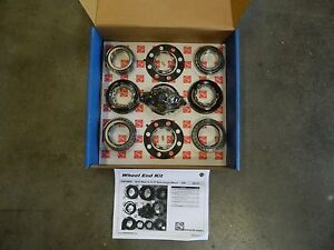 Complete Rear Wheel Hub Master Bearing Kit 2011+ Chevy Single 10.5 11.5 AAM GMC