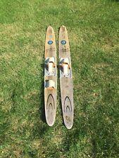 New listing Vintage Cypress Gardens Wood Water Skis Dick Pope Jr.