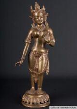 Nepal 20. Jh. A Nepalese Bronze Figure of Tara - Scultura in Bronzo - Népalais