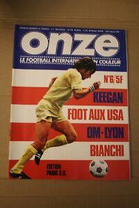 /! Attention Collector /! FOOTBALL ONZE n° 6 Juin 1976 la grande époque!