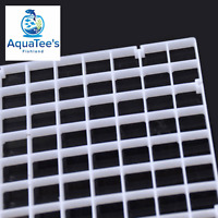 Grid Divider Tray Egg Crate Aquarium Fish Tank Filter Bottom Isolate WHITE X 2