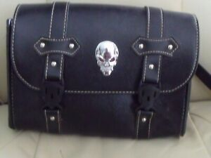 leather motorcycle tool bag