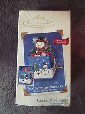 Hallmark Keepsake Ornament, Collector's Series, Pop! Goes The Snowman