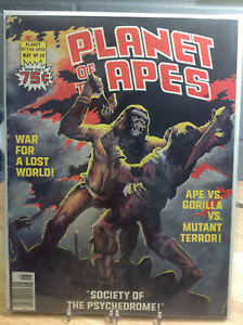 PLANET OF THE APES #20 - VF - CURTIS FANTASY MAGAZINE