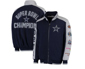 NEW NFL Dallas Cowboys Officially Licensed Commemorative Classic Jacket- LARGE