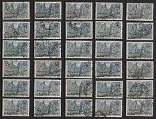 K74* Lot Timbres Oblitérés n°1436 1965 (moustiers sainte marie) x30 pour étude
