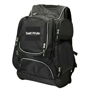 NEW GOLF PRIDE Antique Executive Backpack LAPTOP SLEEVE Book Bag SPORT