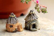 Miniature Fairy Garden Houses Fairy Hut Mini Cottage Accessory (Fast Shipping)