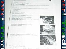 BMW Z3 E36 Parking Hand E-Brake Repair Leaflet 0148474 01290148474