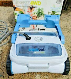 Aquabot BREEZE 4WD In Ground Automatic Robotic Swimming Pool Vacuum