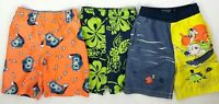 The Childrens Place Boys Size 4T Swim Trunks Shorts Bathing Suit LOT of 3