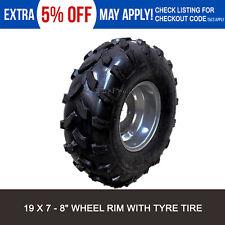 "19x7 - 8"" inch Front Wheel Rim + Tyre Tire 125cc 150cc Quad Dirt Bike ATV Buggy"