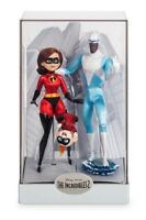 Disney Limited Edition Incredibles 2 Designer Doll Elastigirl Frozone Jack Jack