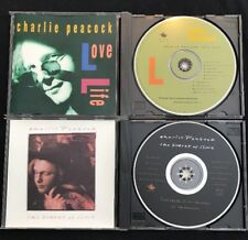CHARLIE PEACOCK CDs LOVE LIFE & THE SECRET OF TIME