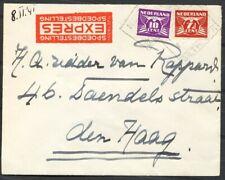 7½ EN 10 CT.DUIF,BLOKST. NED.SP.BILTHOVEN 9 NOV 1941 OP EXPRESSE COUVERT - Ac891