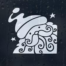Christmas Santa Claus Car Decal Vinyl Sticker For Window Bumper Panel Wall