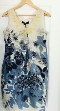 NINE WEST DESIGNER LINED FLORAL NEW DRESS WORK SZ 8