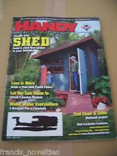 C1 Handy man magazine June / July 2010 Slat chair and table Shed  Revista alba