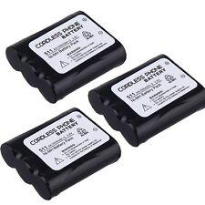 3x Battery for PanasonicKX-TGA270 KX-TGA270S KX-TGA273 KX-TGA510 KX-TGA510M 3.6V