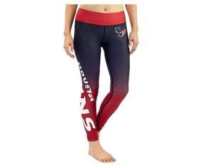 FOCO NFL Women's Houston Texans Gradient Print Leggings