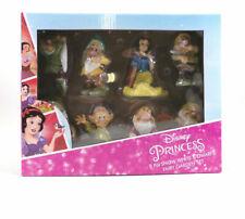 Disney 8 Piece Snow White & 7 Dwarfs Fairy Garden Statue Set