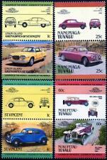 LANCIA collection de 8 Timbres Voiture (Auto 100 / leaders du monde)