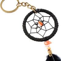 Chimes Female Jewelry Pendant Tassel Feather Dream Catcher Keychain Key Ring New