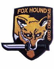 "Metal Gear Solid Orange Fox Hound 3 1/2"" Tall Shoulder Patch"
