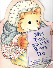 Mrs. Tiggy-Winkle's Windy Day-An Activity Book created by Beatrix Potter 1986VG