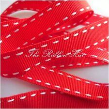 Berisfords 15mm Stitched Edge Grosgrain Ribbon 13 Colours, 1Mtr Lengths