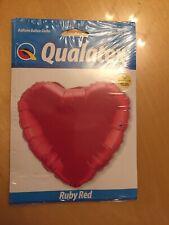 Helium Balloon Red Heart