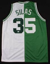 Paul Silas Signed Basketball Jersey NBA Boston Celtics ~ PSA COA Authenticate! ~
