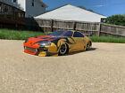Custom Painted No Prep Drag Racing RC Body. Proline 95 Toyota Supra.