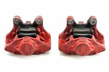 #374 MERCEDES C32 AMG 02-04 REAR LEFT &RIGHT SPORT BRAKE CALIPER SET RED