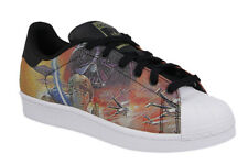 Star Wars Adidas Superstars Size 4 - 4.5 Kids Luke Skywalker Trainers