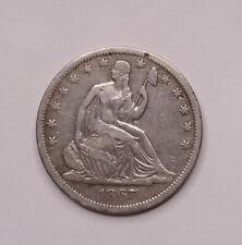 1867-S Seated Liberty Half Dollar - Choice w/ Nice Eye Appeal