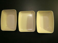 Vintage Pan Am Memorabilia- 3 Snack Dishes with Pan Am Logo