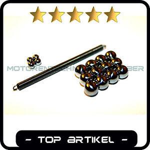SIMSON Kugeln Schaltkugeln  5-Gang Schnurfeder Getriebe 4mm 7mm S51 S70 SR50