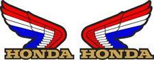 Honda Wings Tank Decals Stickers American Flag Racing Helmet Toolbox Motorcycle