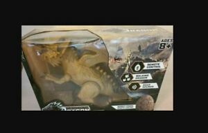 Remote Controlled Dragon - Brown - With Sounds and Wired Fossil remote control