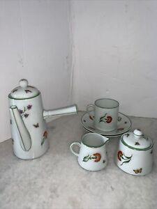 Royal Limoges, Tiffany Garden Tea Set