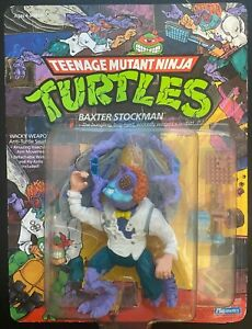 TMNT Baxter Stockman; 1989 Unpunched (Rose Swatter)