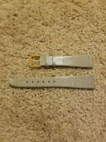 19mm Genuine Lizard Watch Band