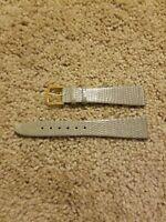 19mm Genuine Lizard Watch Band